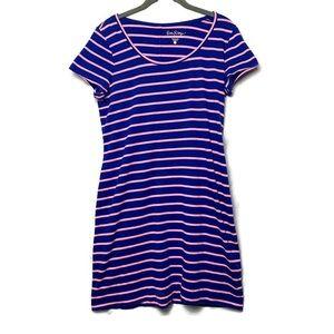 Lilly Pulitzer Short Sleeve Stripe Beacon Dress